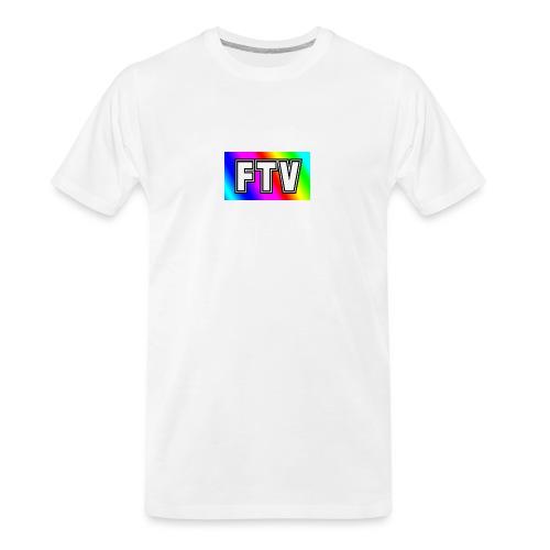 Rainbow white version - Men's Premium Organic T-Shirt