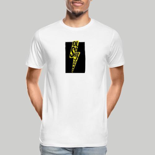 Ol' School Johnny Colour Lightning - Men's Premium Organic T-Shirt