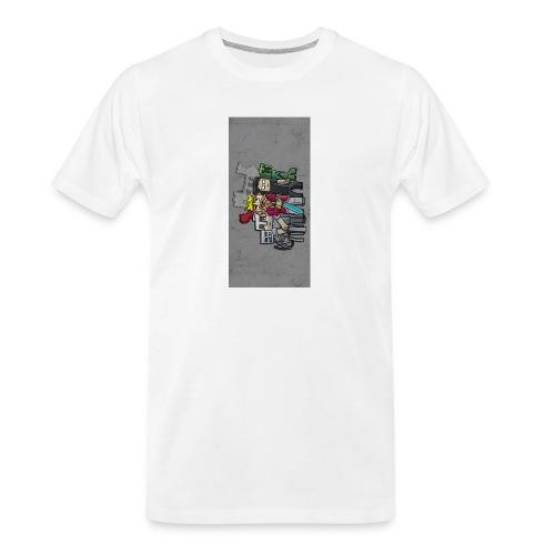 sparkleziphone5 - Men's Premium Organic T-Shirt