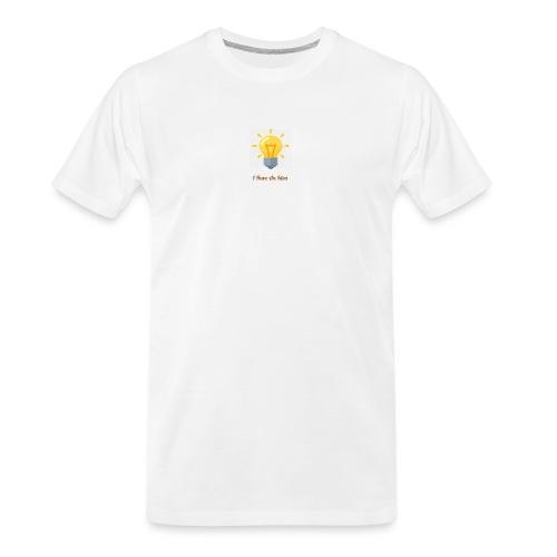 Idea Bulb - Men's Premium Organic T-Shirt