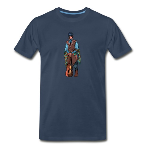 Billsby1 png - Men's Premium Organic T-Shirt