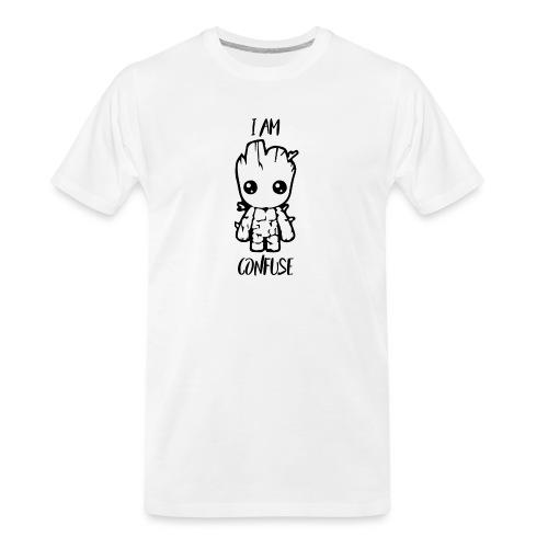 I Am Confuse - Men's Premium Organic T-Shirt