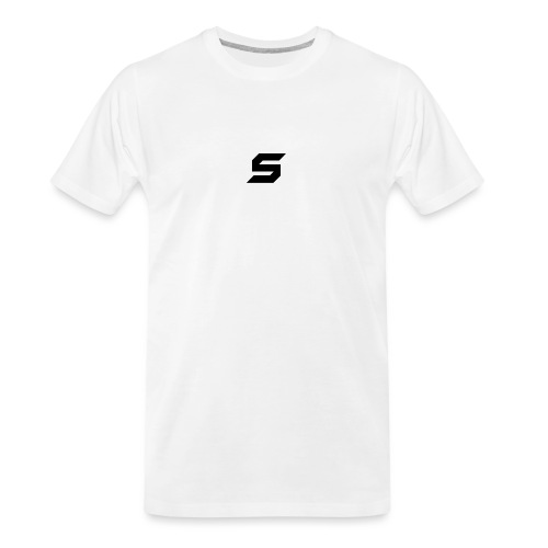 A s to rep my logo - Men's Premium Organic T-Shirt