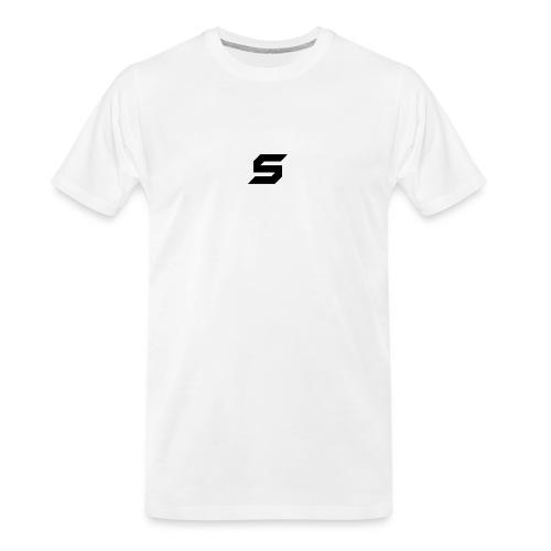 A s to rep my logo - Men's Premium Organic T-Shirt