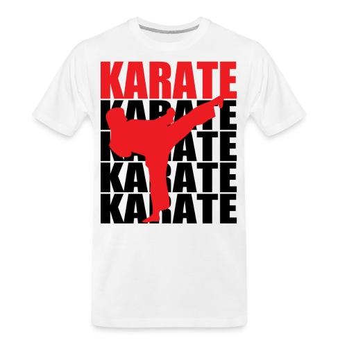 Karate - Men's Premium Organic T-Shirt