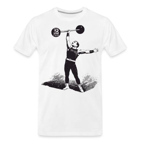 Women's 2Ton Sideshow Strongman Shirt - Men's Premium Organic T-Shirt