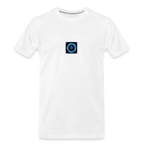 MY YOUTUBE LOGO 3 - Men's Premium Organic T-Shirt