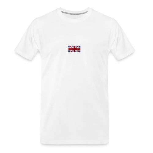 British Flag - Men's Premium Organic T-Shirt