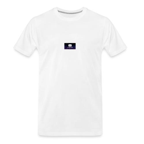 my life is youtube poster - Men's Premium Organic T-Shirt