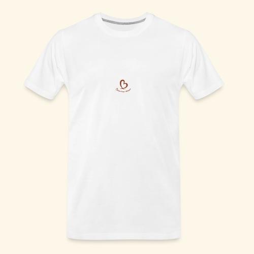 Bless Your Heart® Orange - Men's Premium Organic T-Shirt