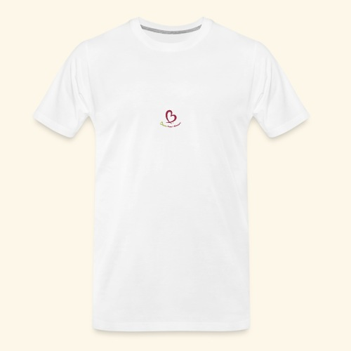 Bless Your Heart® Pink Yellow - Men's Premium Organic T-Shirt