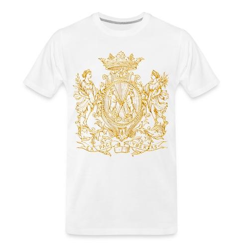 peace and prosperity coat of arms - Men's Premium Organic T-Shirt