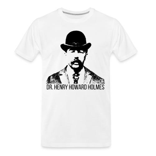 Dr-Henry-Howard-Holmes - Men's Premium Organic T-Shirt