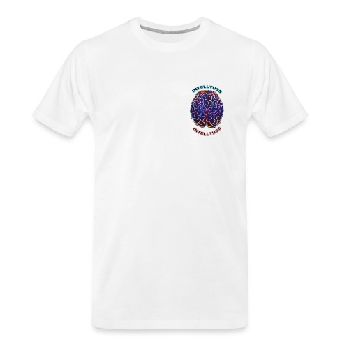 IntellTuss Shirt (pocket design) - Men's Premium Organic T-Shirt