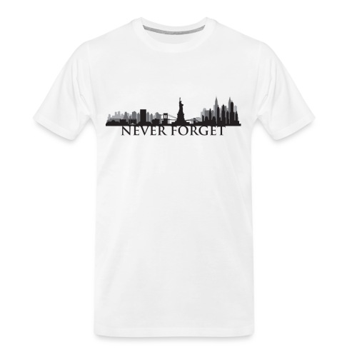 New York: Never Forget - Men's Premium Organic T-Shirt