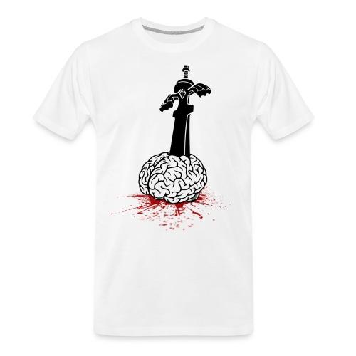 Sword in Brain - Men's Premium Organic T-Shirt