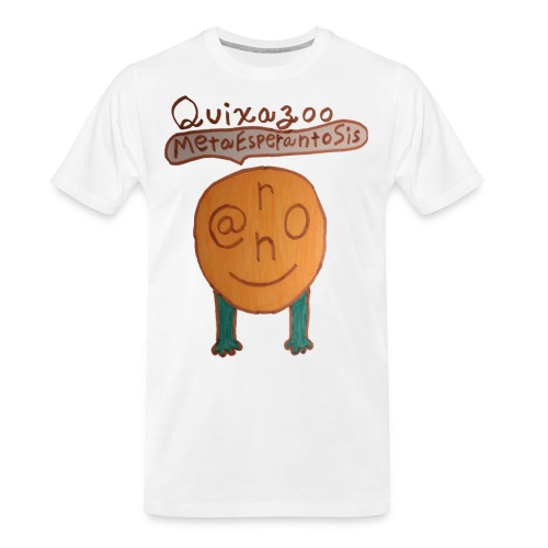 MetaEsperantoSisHead - Men's Premium Organic T-Shirt