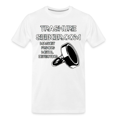 trashureseeker logo - Men's Premium Organic T-Shirt