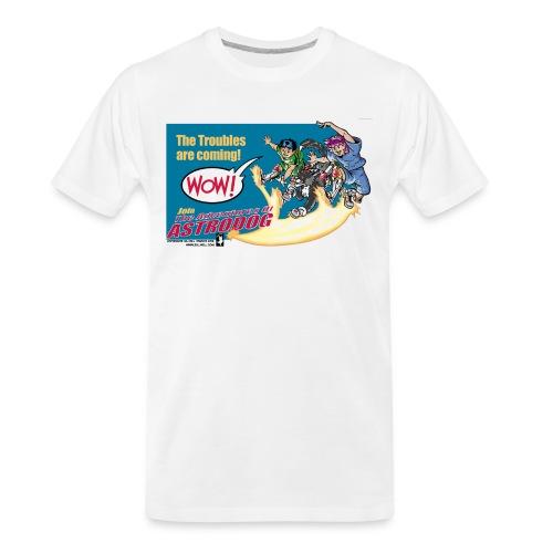 Astrodog Trouble - Men's Premium Organic T-Shirt