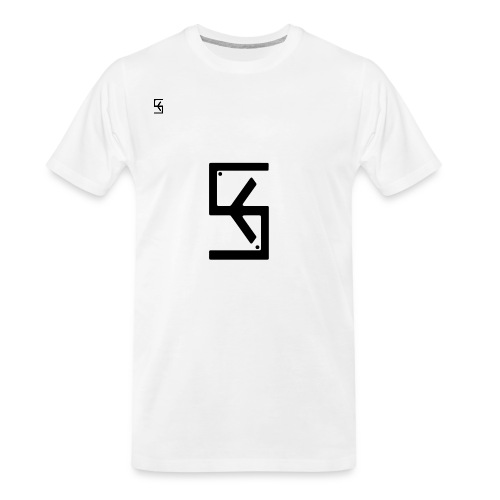 Soft Kore Logo Black - Men's Premium Organic T-Shirt