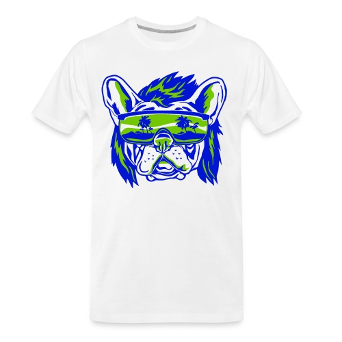Beach Pooch - Men's Premium Organic T-Shirt