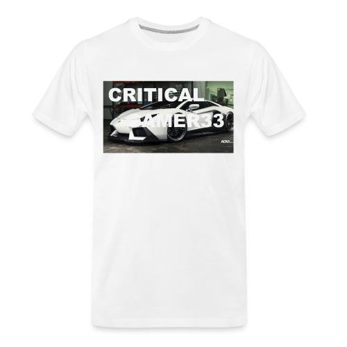 CRITIMERCH EXCLUSIVE - Men's Premium Organic T-Shirt