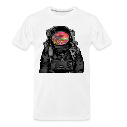 tripped out space man - Men's Premium Organic T-Shirt