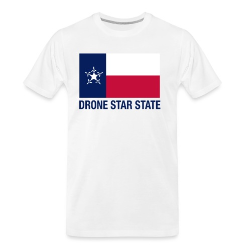 Drone Star State - Long Sleeve - Men's Premium Organic T-Shirt