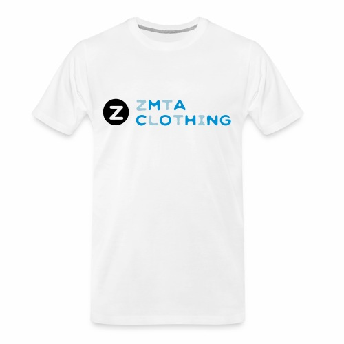 ZMTA logo products - Men's Premium Organic T-Shirt