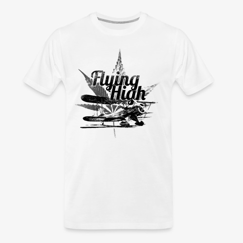 flying high - Men's Premium Organic T-Shirt