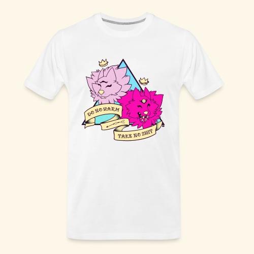 - Do No Harm, Take No Sh*t - - Men's Premium Organic T-Shirt