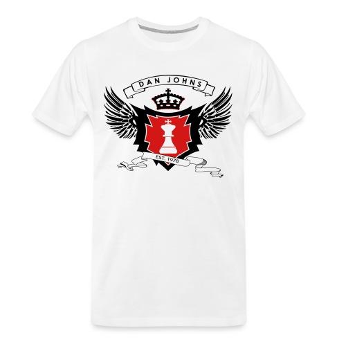danjohnsawlogo - Men's Premium Organic T-Shirt