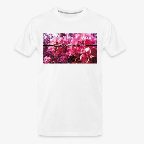Beauty - Men's Premium Organic T-Shirt
