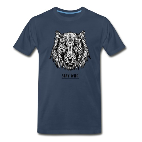 Stay Wild - Men's Premium Organic T-Shirt