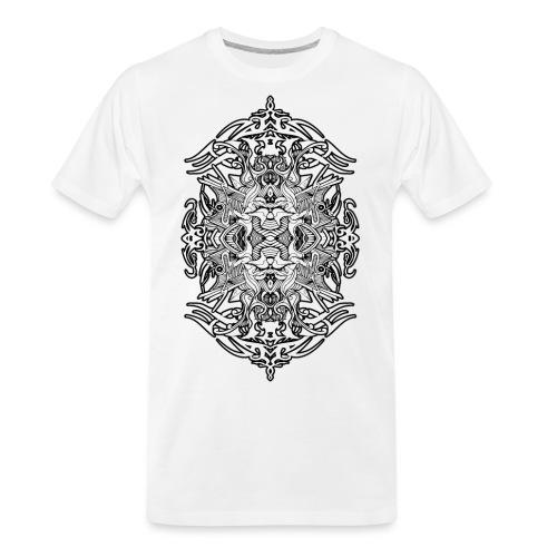 Eternal Voyage 4 - B&W - Men's Premium Organic T-Shirt