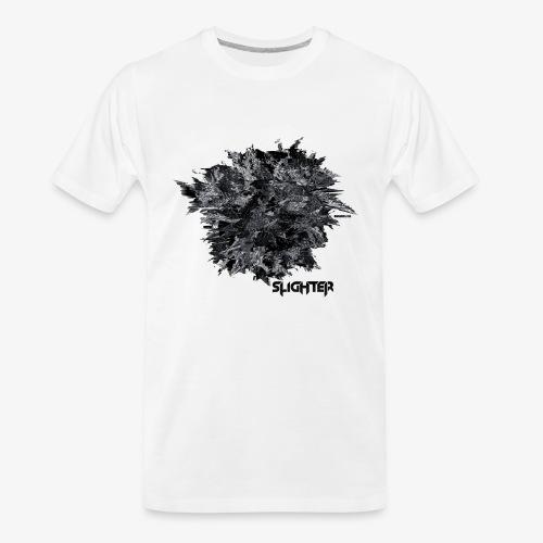 Glitched Orb - Men's Premium Organic T-Shirt