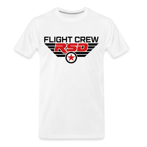 RSD Flight Crew - Men's Premium Organic T-Shirt