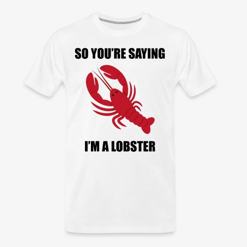 LOBSTER3 - Men's Premium Organic T-Shirt