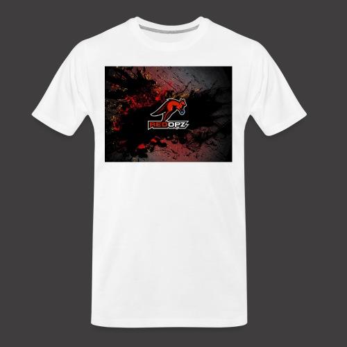 RedOpz Splatter - Men's Premium Organic T-Shirt