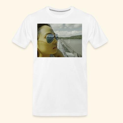 ray band 50s - Men's Premium Organic T-Shirt