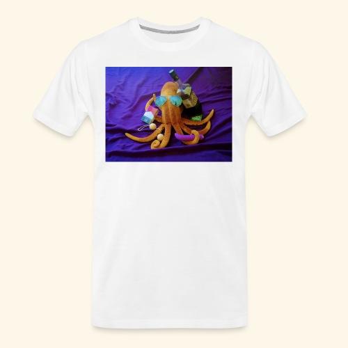 Mr squiddy - Men's Premium Organic T-Shirt