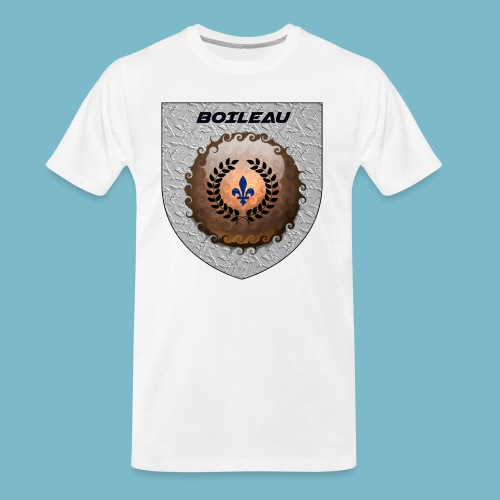 BOILEAU 1 - Men's Premium Organic T-Shirt