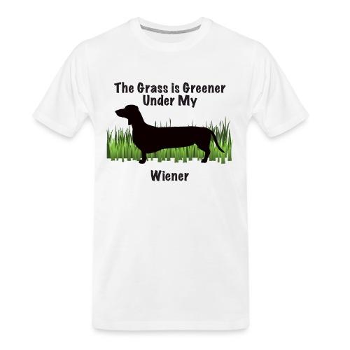 Wiener Greener Dachshund - Men's Premium Organic T-Shirt