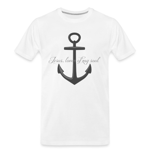 Anchor of my soul - Men's Premium Organic T-Shirt