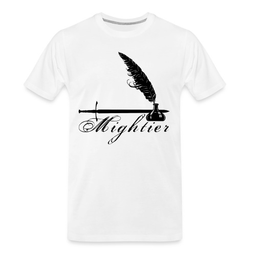 mightier - Men's Premium Organic T-Shirt