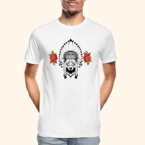 WOLF KING - Men's Premium Organic T-Shirt