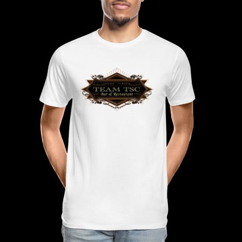 teamTSC badge03 Bar - Men's Premium Organic T-Shirt