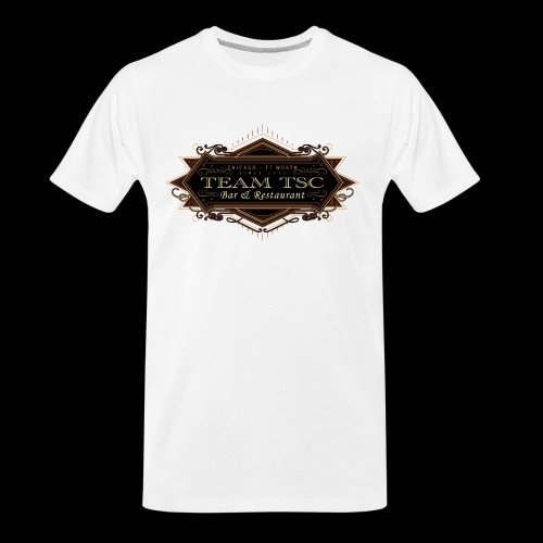 teamTSC badge03 Bar - Men's Premium Organic T-Shirt