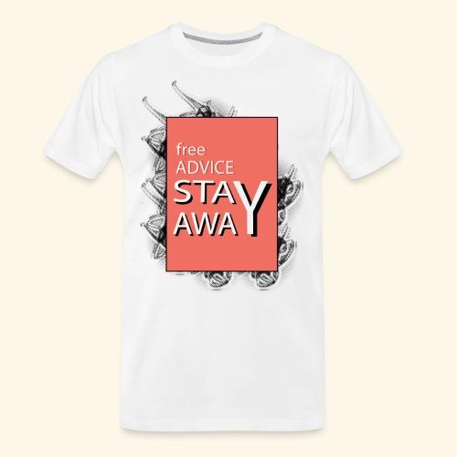 free advice - Men's Premium Organic T-Shirt