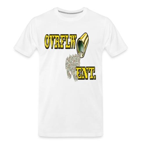 OVRFLW - Men's Premium Organic T-Shirt